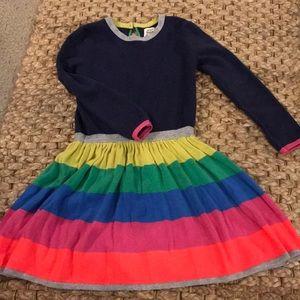 Mini Boden size 5-6 sweater dress